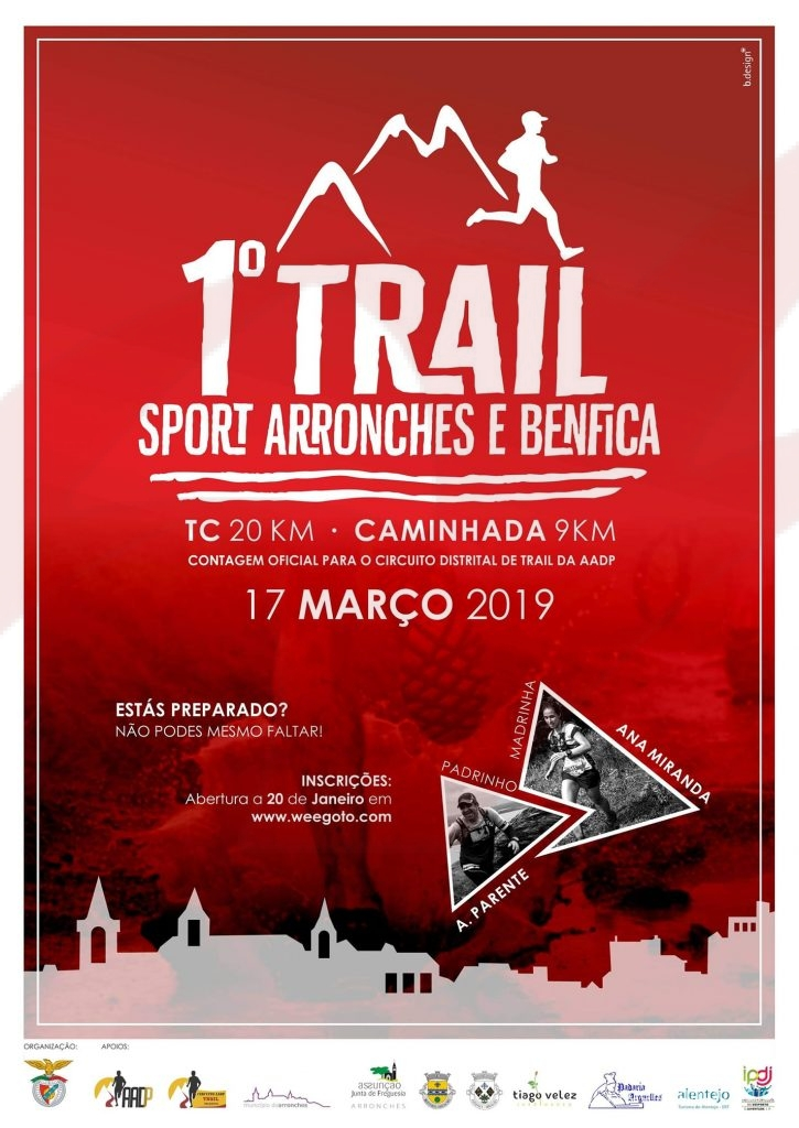 1º Trail do Sport Arronches e Benfica