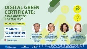 Digital green certificate