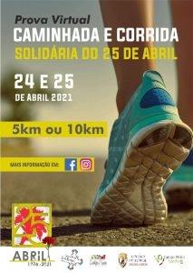 caminhada solidaria Campo Maior 25abril